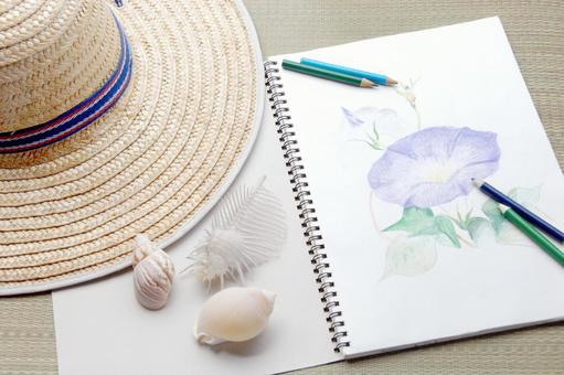 Summer vacation painting homework
