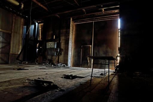 工廠的廢墟
