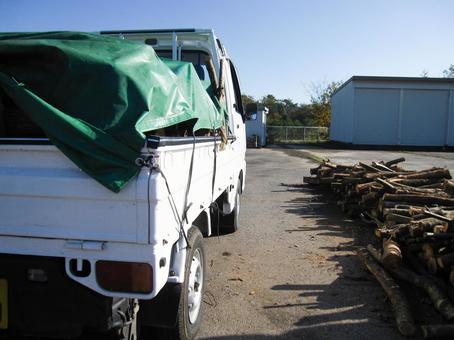 Firewood and light trucks 06