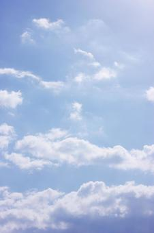 Clouds and blue sky 2