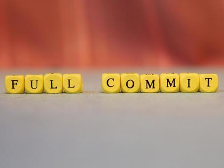 FULL COMMIT (전체 커밋) 문자 소재