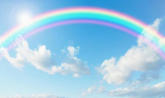 Blue sky_rainbow_170