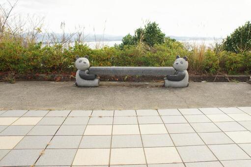 Panda bench