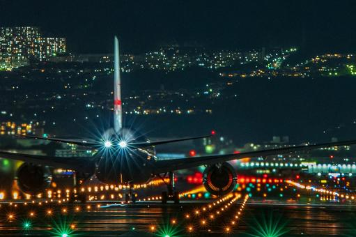 Airport Airplane (Itami Airport) 113