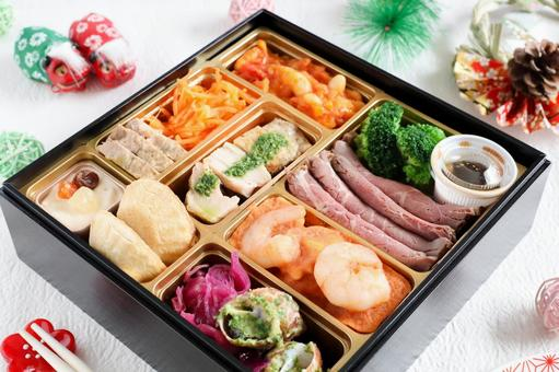Western-style New Year dishes
