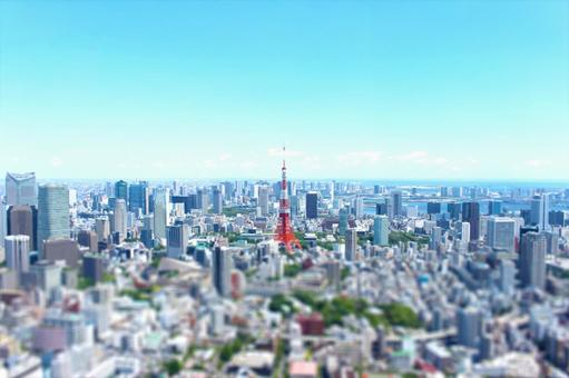 Scenery of Tokyo central city