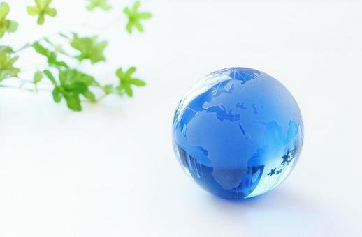 Earth globe eco blue earth