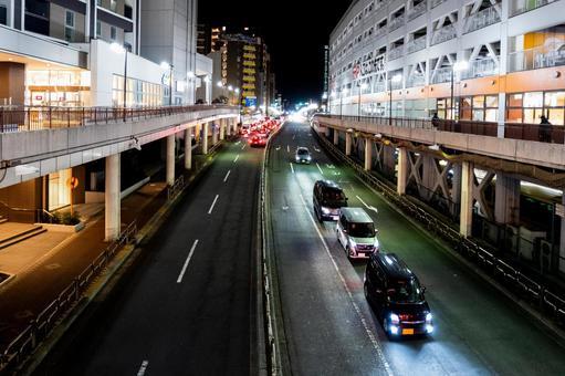 밤 마치다 에키 마에 도리 01