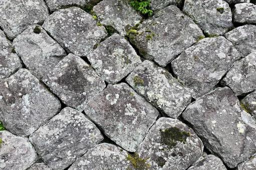 "Taketa City, Oka Castle Ruins ""Ishigaki at the Oka Castle Ruins"""