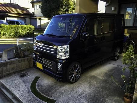 Light car black