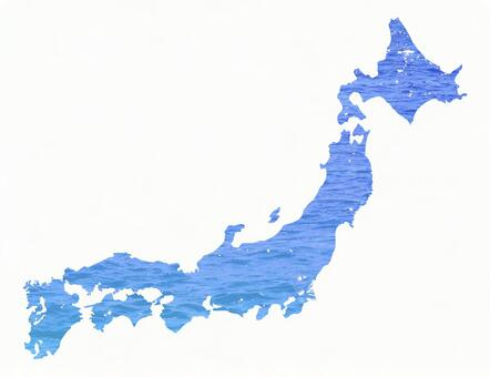Graphics Japan Map