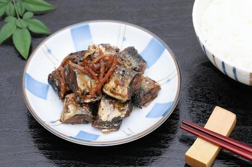 Boiled fish and fish