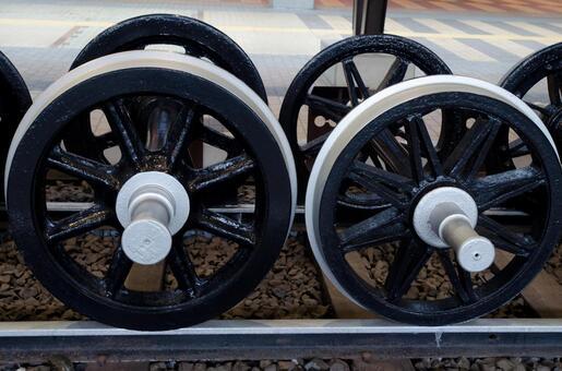蒸汽机车1的车轮