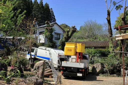 벌목 작업 고소 작업 차 3