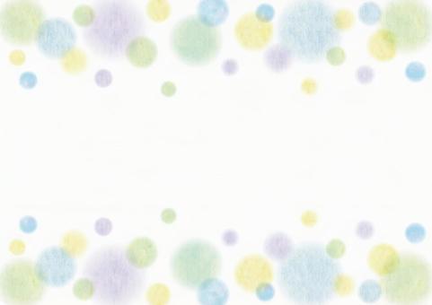 Watercolor _ polka dots _ frame