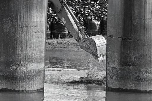 Hydraulic engineering work
