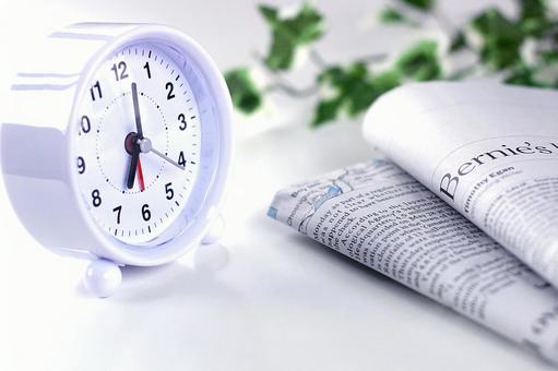 알람 시계 신문 1