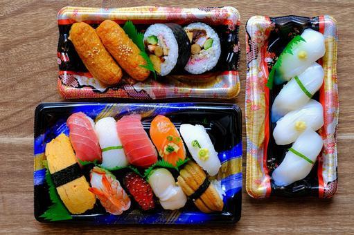 Sushi takeout ②