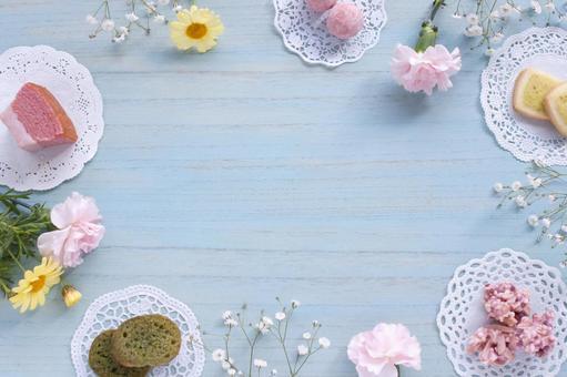 봄빛 간식 프레임