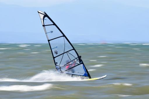 Wind surfing follow-through shooting 005