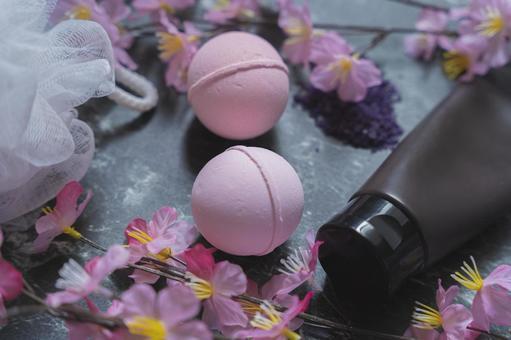 벚꽃 목욕 소금 (입욕제)