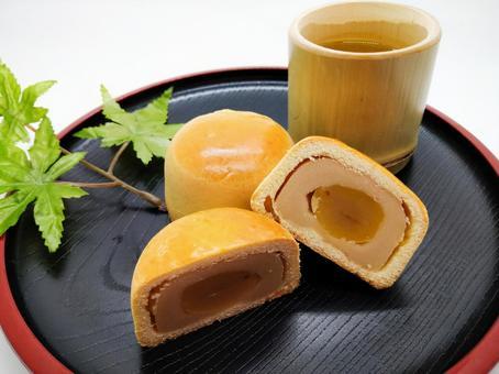 Chestnut manju