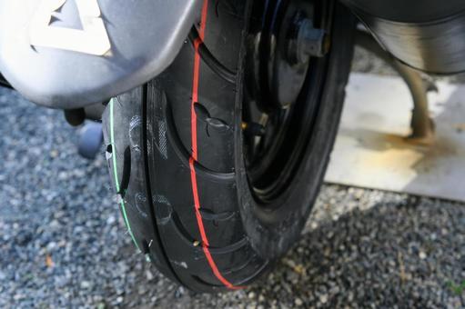 Bike tire change