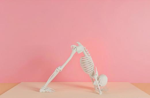 Skeleton H who decides yoga pose