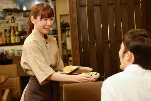 Izakaya sign board girl 9