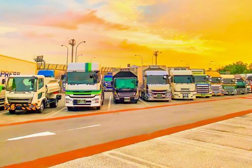 Highway heavy truck