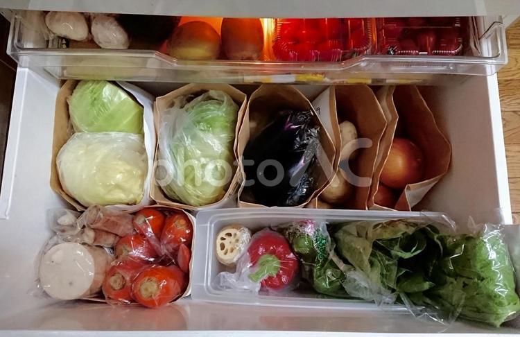 冷蔵庫の野菜室2の写真