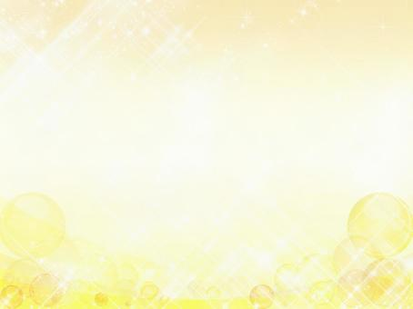 Yellow dots ball Wave background 0111