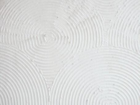 Japanese pattern plaster iron wave combing (Qinghai wave) wall