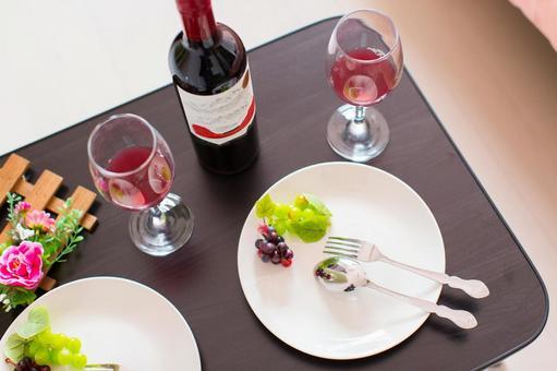 ワインのあるインテリア