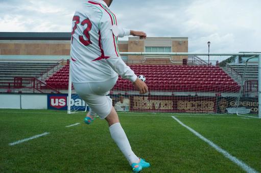 Soccer kick 11
