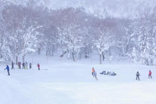 Ski learning