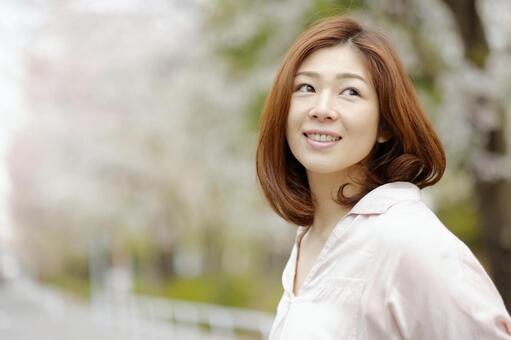 Smiling woman 6