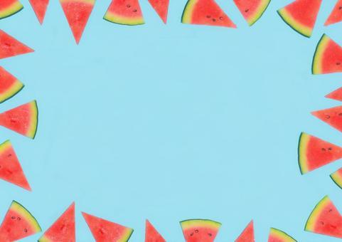 Watermelon frame