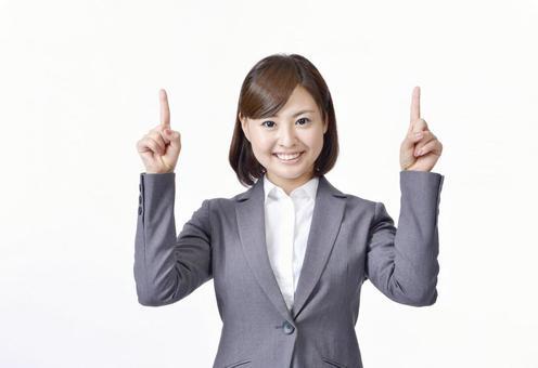 女子指着手指11