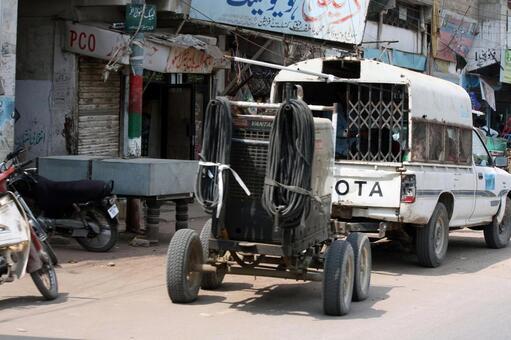 巴基斯坦的工作车辆