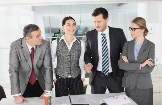 Business team to stand up and discuss 11