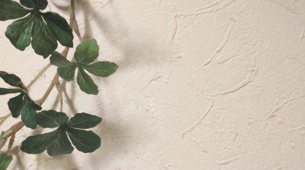 Easy-to-use wallpaper and green (horizontal) | Simple and beautiful background material