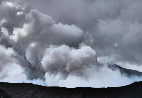 火山 阿蘇山