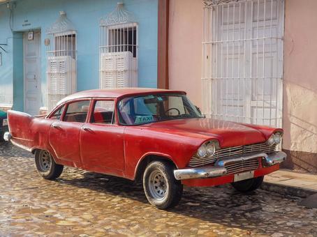 Classic Car_ Trinidad-Cuba