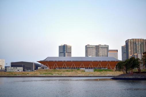 Olympic stadium gymnastics