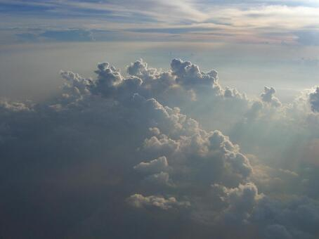 Aerial photograph of cloud 006