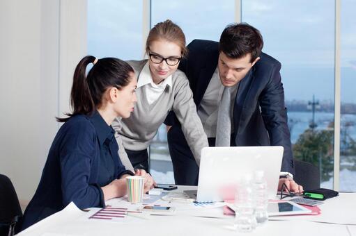 Business team to make arrangements 9