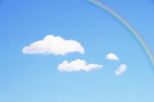 푸른 하늘과 무지개 3