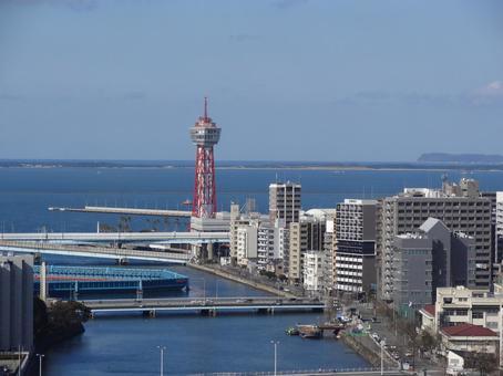 후쿠오카 포트 타워 하카타