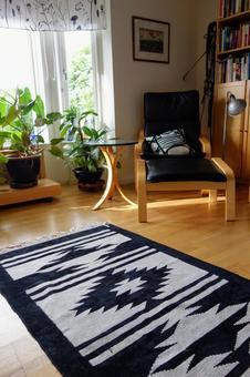 Focusing on carpet